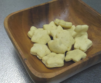 犬用手作りクッキー