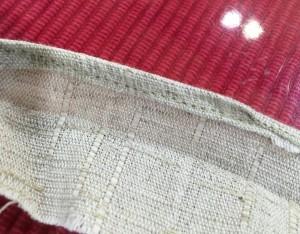 三つ巻き縫い完成