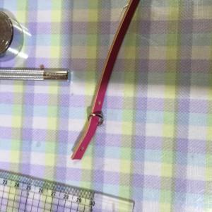 革のストラップ Dカンの使い方