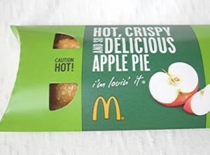 マクドナルド風アップルパイを作る