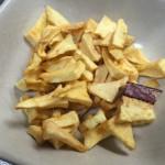手作りリンゴチップ