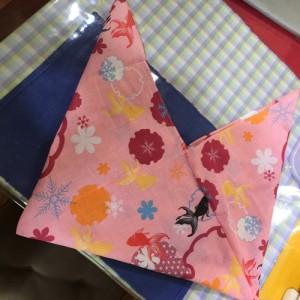 あずま袋の作り方