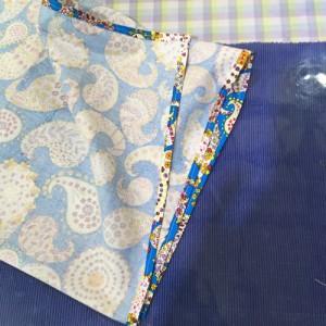 好きな布で あずま袋を作る