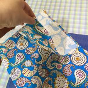 縫うだけ簡単バッグ
