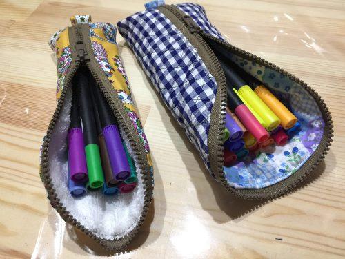 ペン入れポーチの作り方