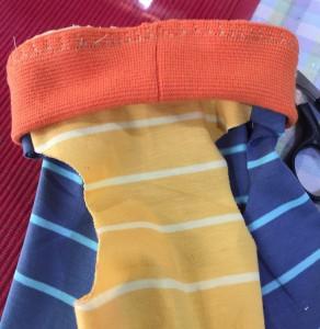 簡単犬服の作り方 仕上げ縫い