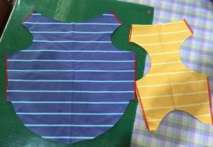 簡単犬服の作り方 手順1
