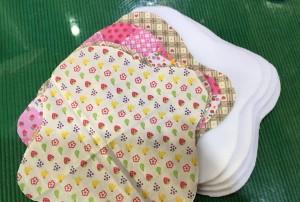 布ナプキン 布の裁断