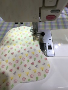 布ナプキン作り方 縫い合わせ