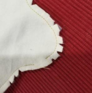 布ナプキンの作り方 縫い代の処理