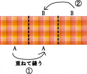 簡単バッグの縫い方