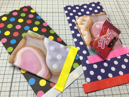 折り紙で作るミニミニ袋