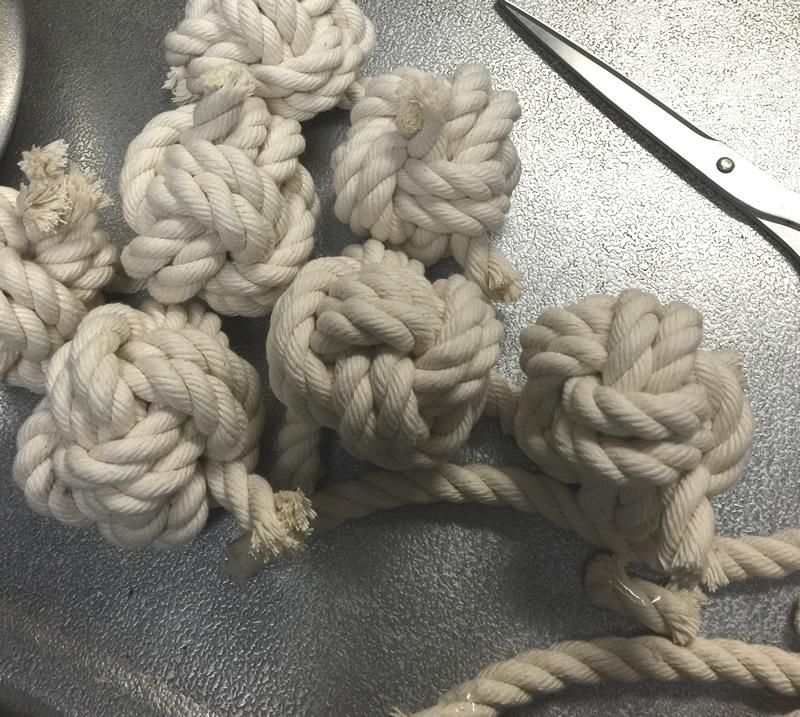 犬用手作りロープオモチャ 作り方