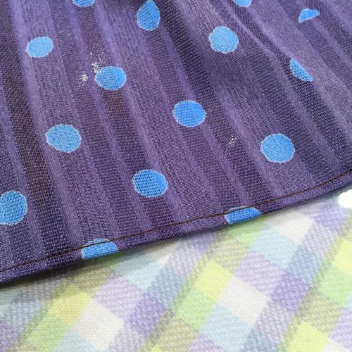 手作りストール 縫う