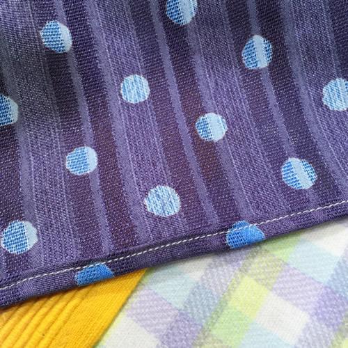 手作りストール 縫い目