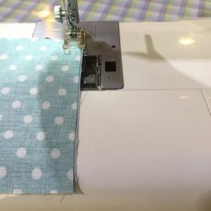 簡単シュシュ 縫う
