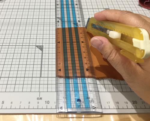 革タッセルの作り方