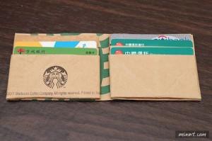 紙袋でお財布を作る